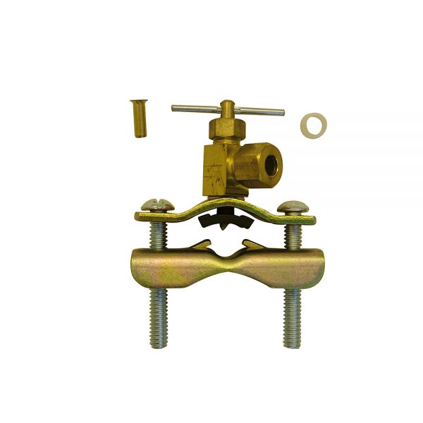 Self Tapping Saddle Valves